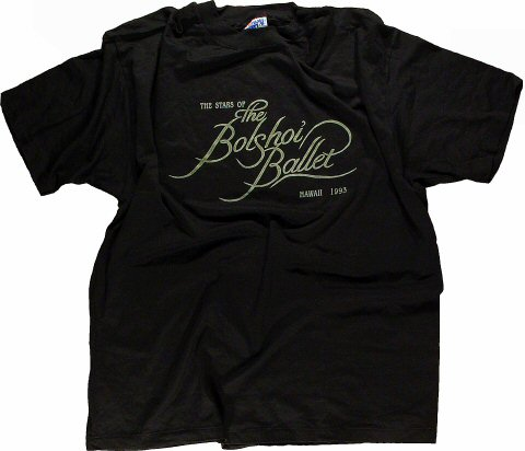 The Bolshoi Ballet Men's Vintage T-Shirt