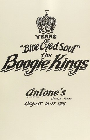 The Boogie Kings Poster