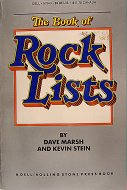 The Book Of Rock Lists Book