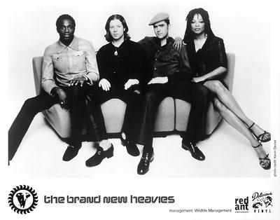 The Brand New Heavies Promo Print