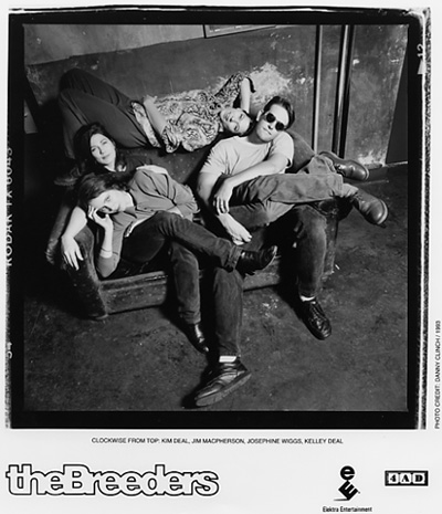 The Breeders Promo Print
