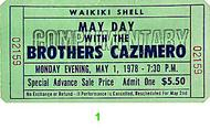 The Brothers Cazimero Vintage Ticket