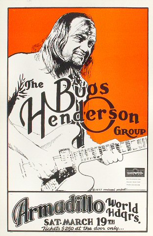 The Bugs Henderson Group Poster