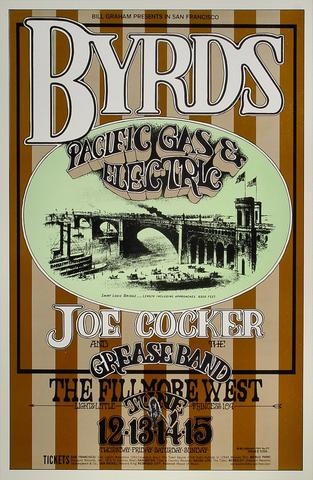 The Byrds Handbill