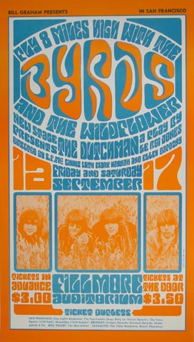 The Byrds Postcard