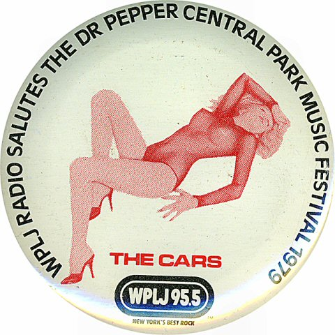 The Cars Vintage Pin