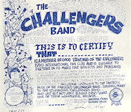 The Challengers Handbill