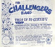 The Challengers Handbill