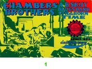 The Chambers Brothers 1960s Ticket