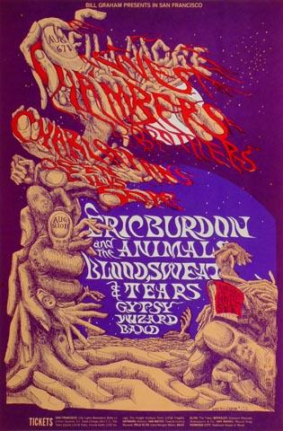 Blood, Sweat and Tears Handbill