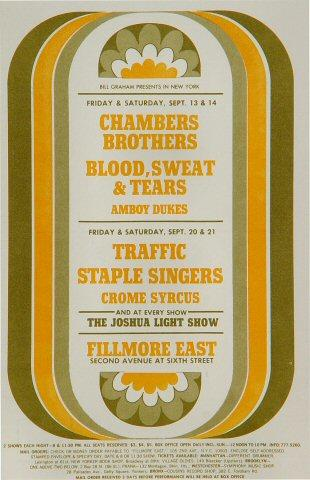The Chambers Brothers Postcard