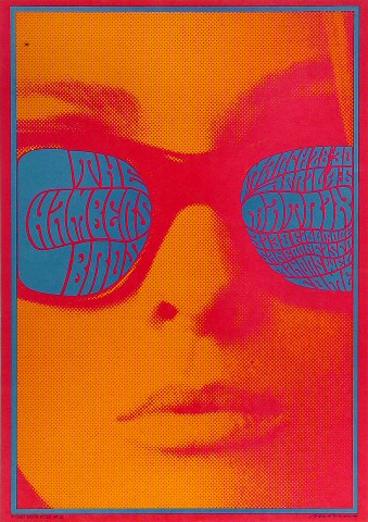 The Chambers Brothers Poster Matrix (San Francisco, CA) Mar 28, 1967