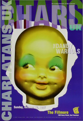 The Charlatans UKPoster