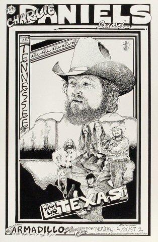 The Charlie Daniels Band Poster