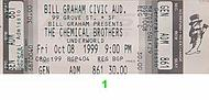 The Chemical Brothers 1990s Ticket