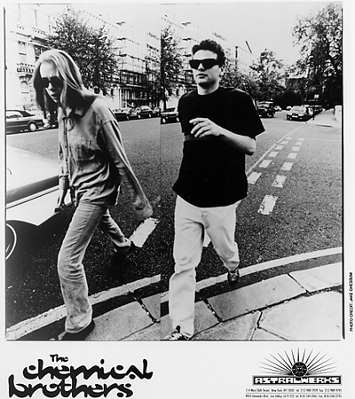 The Chemical Brothers Promo Print