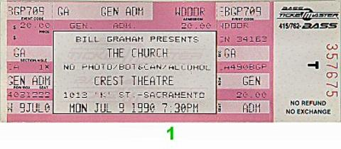 The Church Vintage Ticket