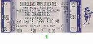 The Cranberries 1990s Ticket