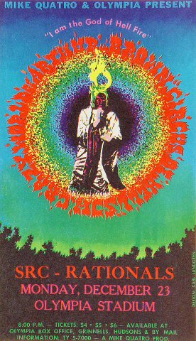 The Crazy World of Arthur Brown Handbill