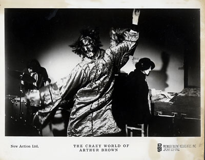 The Crazy World of Arthur Brown Promo Print