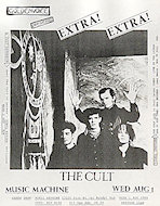 The Cult Handbill