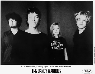 The Dandy Warhols Promo Print