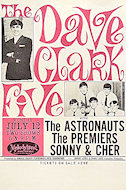 The Dave Clark Five Handbill
