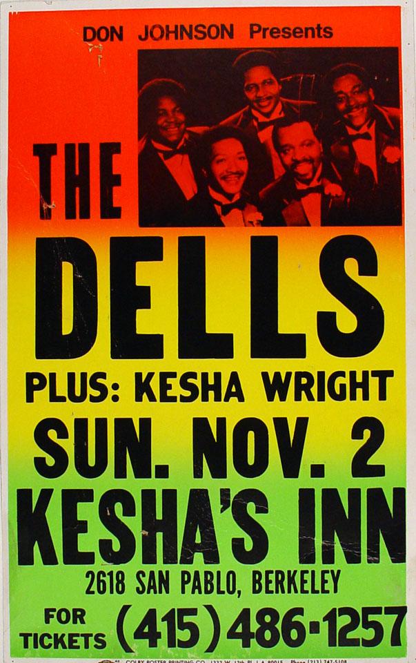 The Dells Poster
