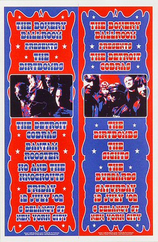The Dirtbombs Handbill