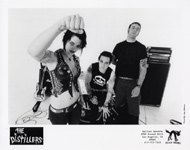 The Distillers Promo Print