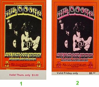 The Doors1970s Ticket