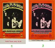 The Doors 1970s Ticket