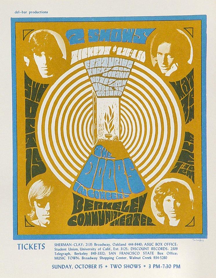 The Doors Handbill