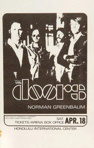 The Doors Handbill