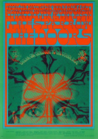 Deal of the Week - The Doors 1967 Poster