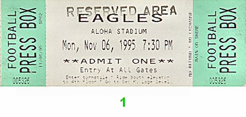 The Eagles 1990s Ticket