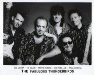 The Fabulous Thunderbirds Promo Print