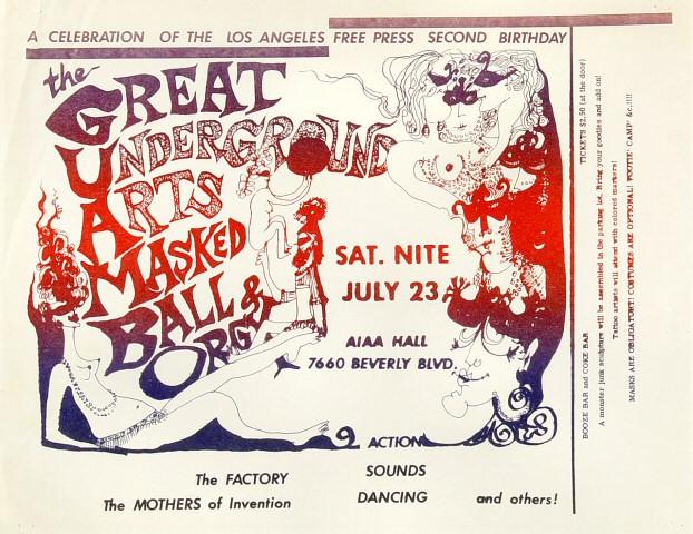 The Factory Handbill