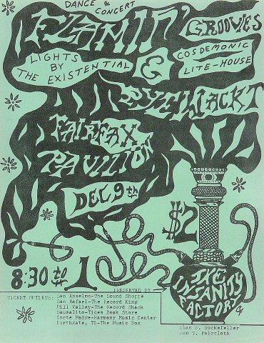 The Flamin' Groovies Handbill