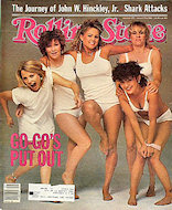 The Go-Go's Rolling Stone Magazine