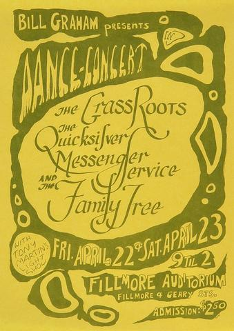 Quicksilver Messenger Service Handbill