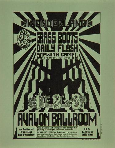The Grass Roots Handbill