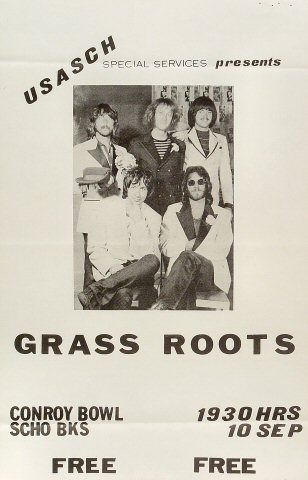 The Grass RootsPoster
