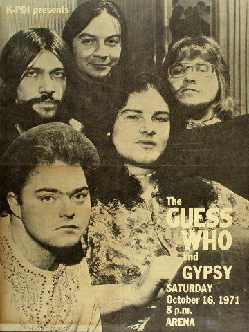 The Guess Who Poster