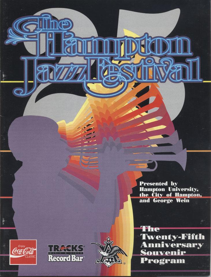 The Hampton Jazz Festival 25th Anniversary Souvenir Program Program
