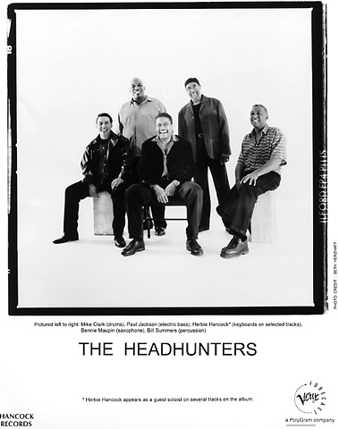 The Headhunters Promo Print