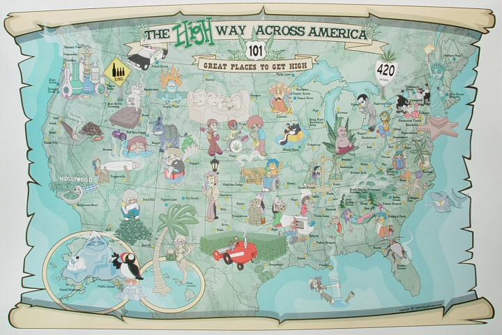 The Highway Across America Poster