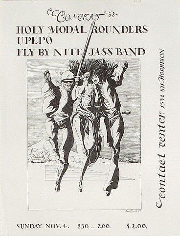 The Holy Modal Rounders Handbill