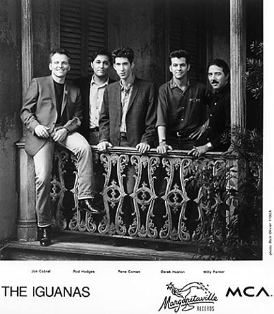 The Iguanas Promo Print