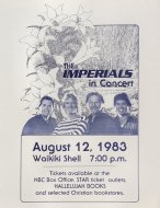 The Imperials Handbill